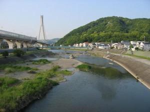 猪名川の風景
