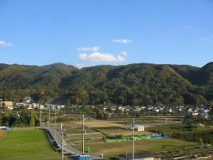 池田市の風景