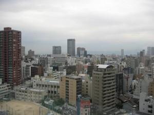 大阪高等裁判所からの風景