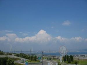 兵庫県立淡路島公園より神戸方面を望む(兵庫県)