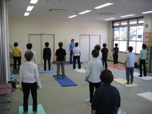 「疲れたこころとからだをほぐす 女性のためのボディワーク」川西町西人権文化センター主催(奈良県)