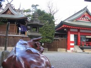 呉服(くれは)神社(大阪府池田市)