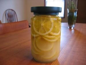 レモンのはちみつ漬