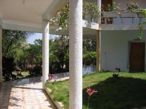 バンガロールのアーユルヴェーダ施設(南インド)